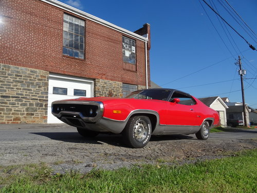 1972 Plymouth Satellite Sebring plus For Sale (picture 1 of 6)