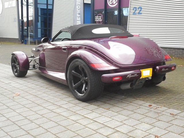 1999 PLYMOUTH PROWLER ! very rare roadster For Sale (picture 2 of 6)