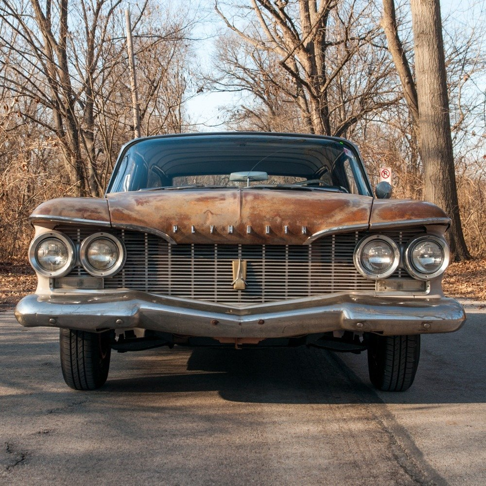 1960 Plymouth Deluxe Suburban Station Wagon = Rare 1 o 5 For Sale (picture 2 of 6)