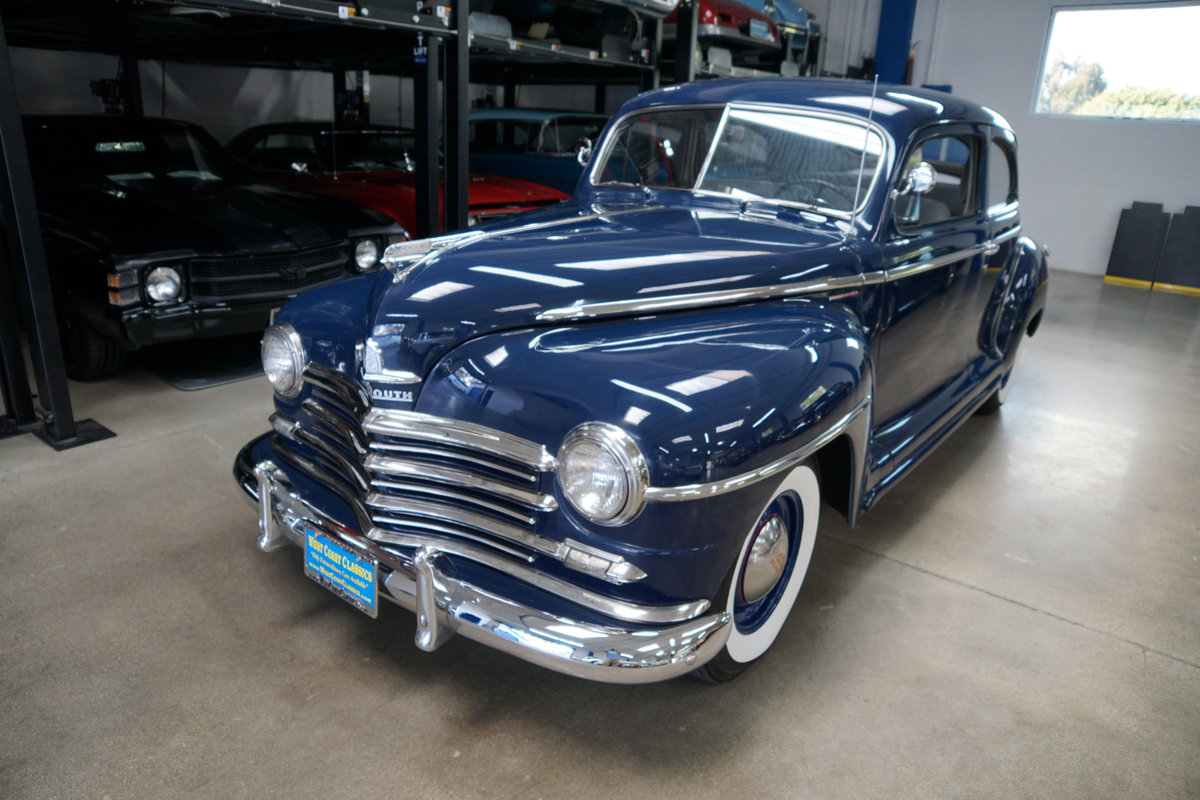 1948 Plymouth Special Deluxe Coupe restored  SOLD (picture 1 of 6)