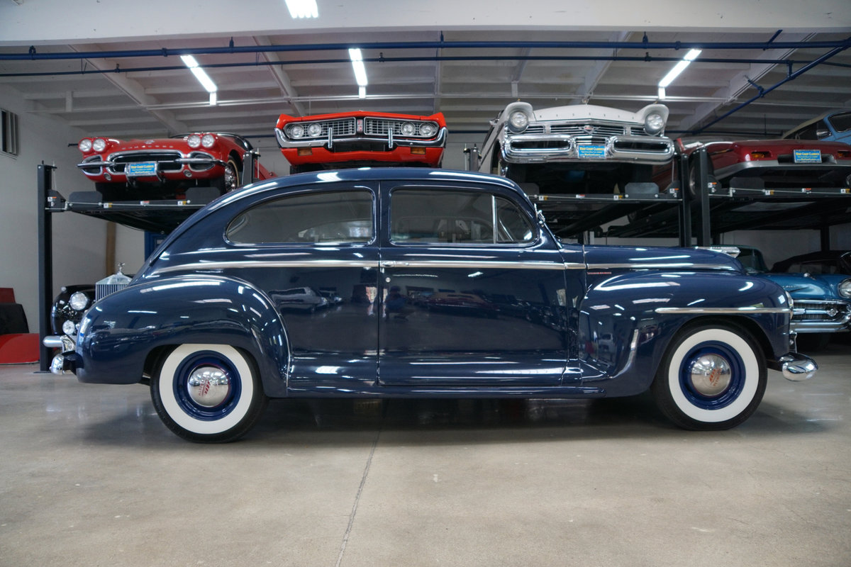 1948 Plymouth Special Deluxe Coupe restored  SOLD (picture 3 of 6)