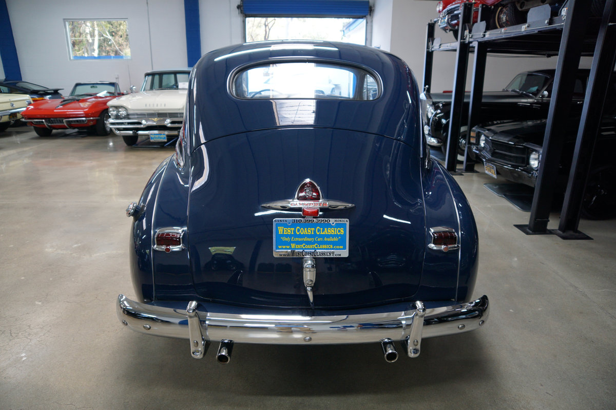 1948 Plymouth Special Deluxe Coupe restored  SOLD (picture 4 of 6)