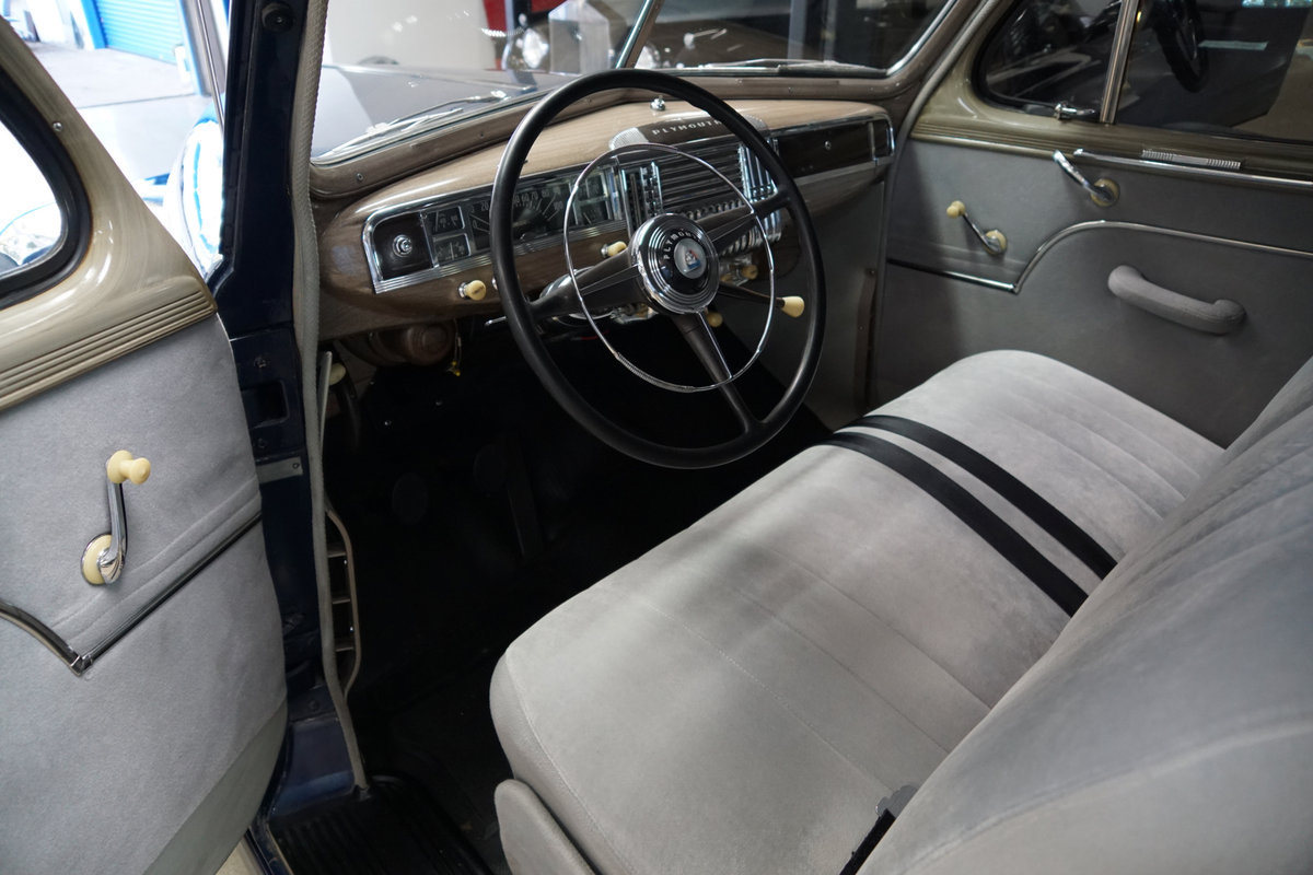 1948 Plymouth Special Deluxe Coupe restored  SOLD (picture 5 of 6)
