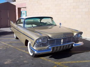 1957 Plymouth Belvedere hardtop coupe