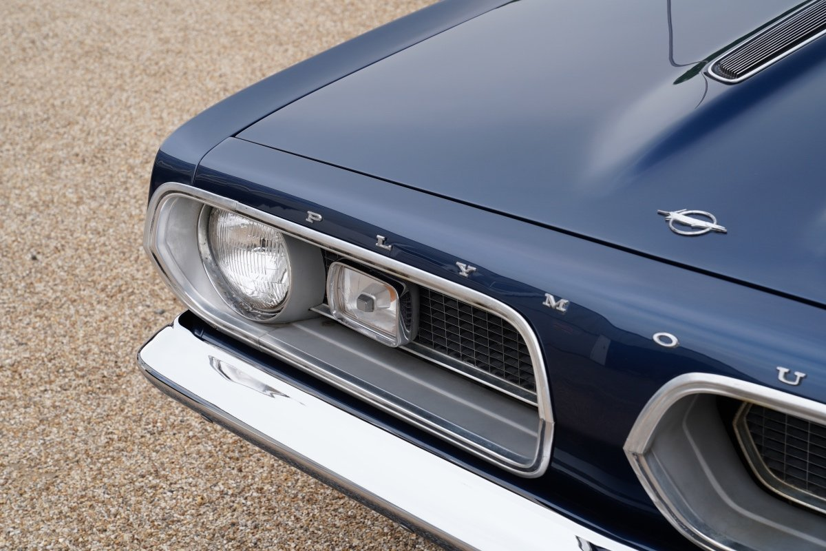 1967 Plymouth Barracuda Coupe Survivor Only 34,112 Miles from new For Sale (picture 2 of 6)