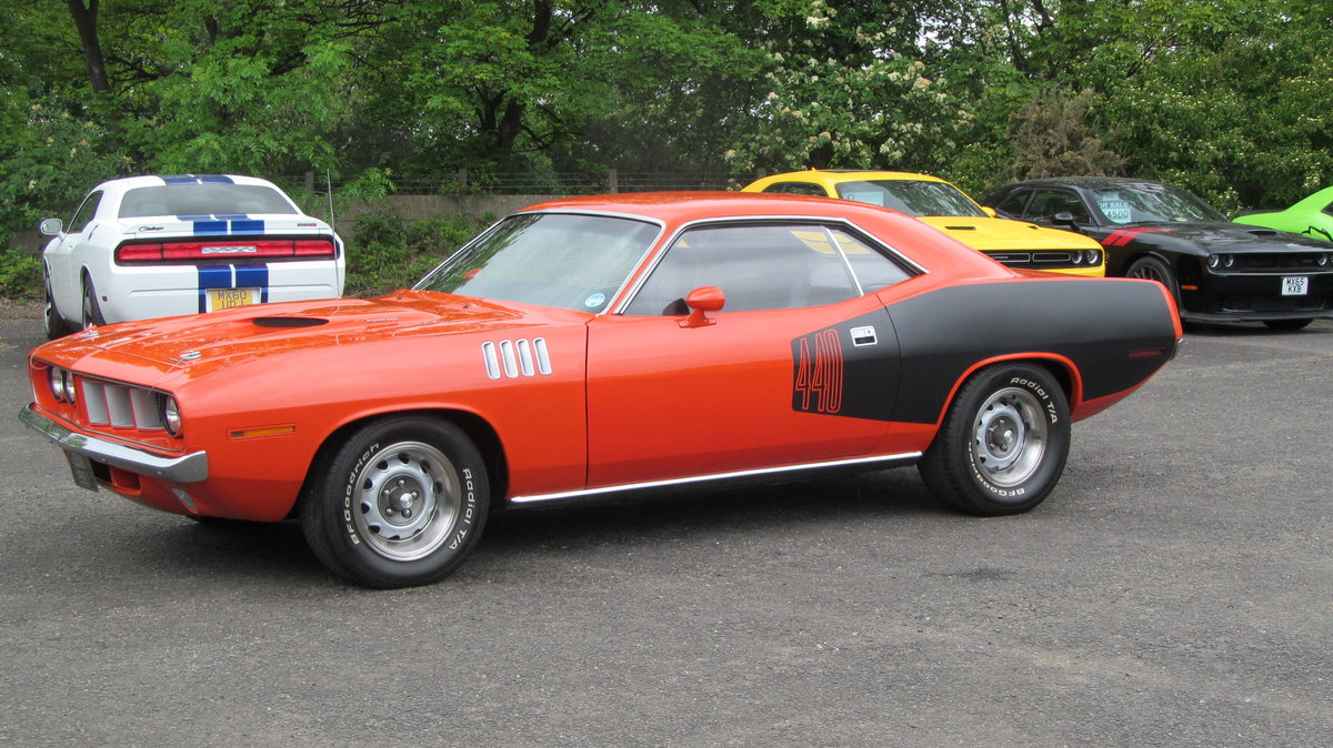 1971 Plymouth Cuda 440  For Sale (picture 1 of 6)