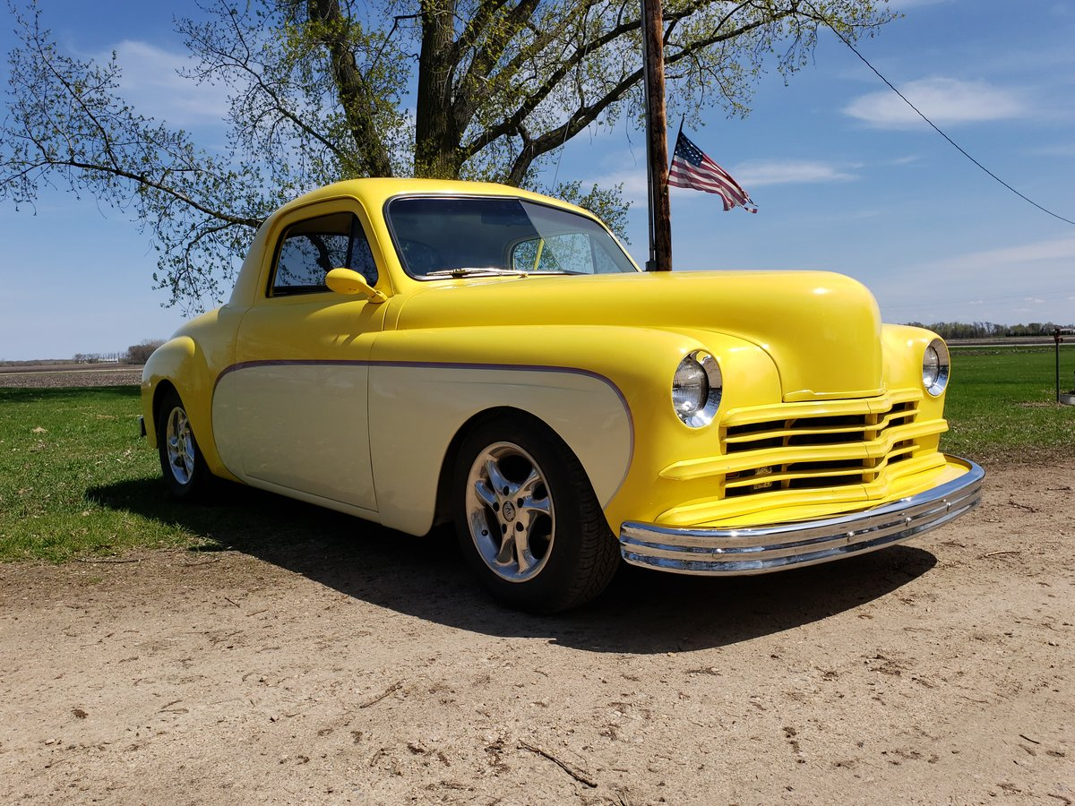 1949 Plymouth Business Coupe Street Rod  For Sale (picture 1 of 6)
