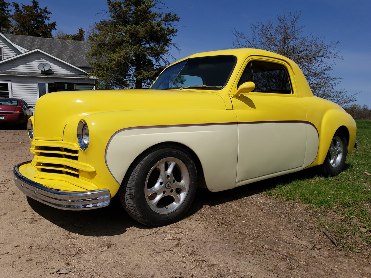 1949 Plymouth Business Coupe Street Rod  For Sale (picture 2 of 6)