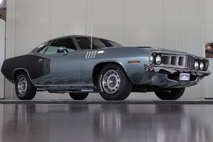 71'Cuda 383 bigblock Restored & Numb.match