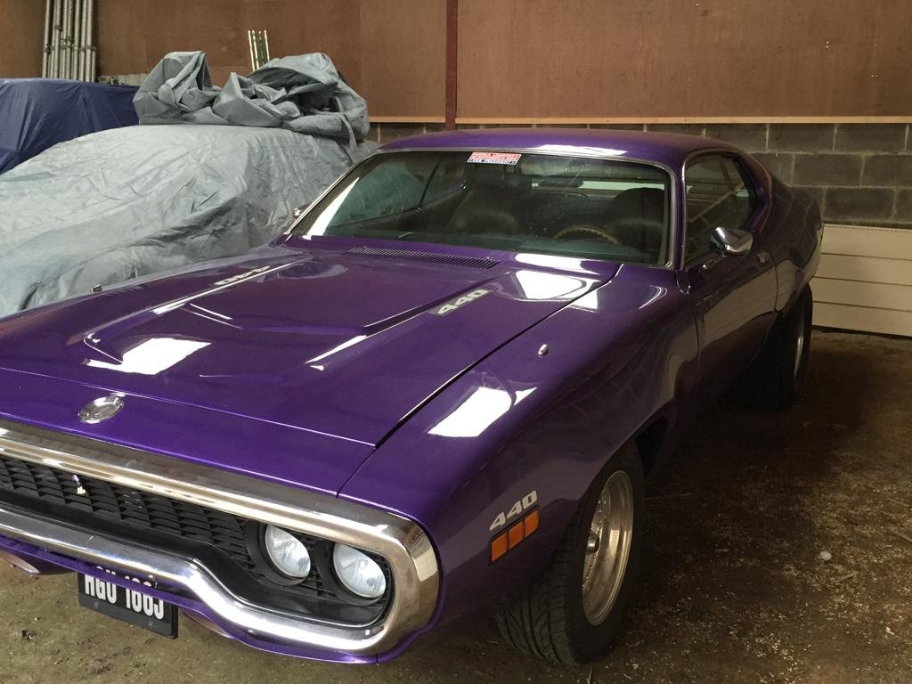 1971 Plymouth Satellite Sebring (Roadrunner Replica) For Sale (picture 4 of 6)