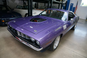 1971 Plymouth Barracuda 440 HP V8 6 spd Custom