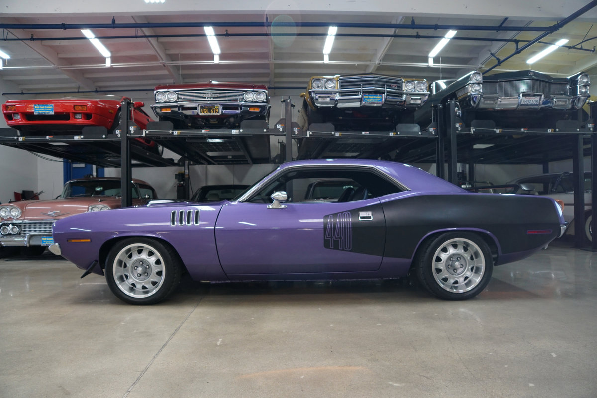 1971 Plymouth Barracuda 440 HP V8 6 spd Custom For Sale (picture 2 of 6)