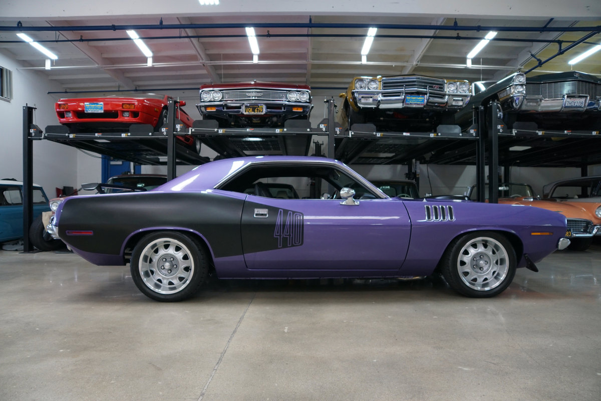1971 Plymouth Barracuda 440 HP V8 6 spd Custom For Sale (picture 3 of 6)
