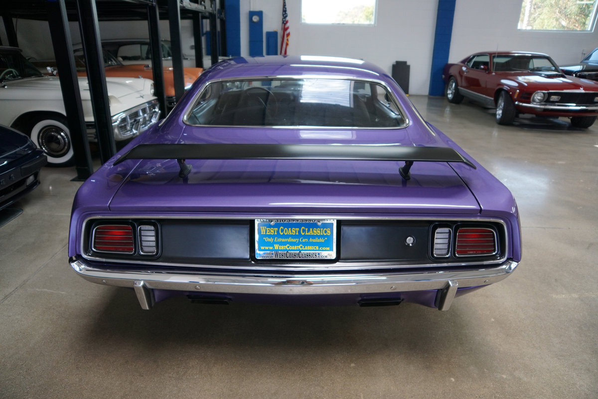 1971 Plymouth Barracuda 440 HP V8 6 spd Custom For Sale (picture 4 of 6)