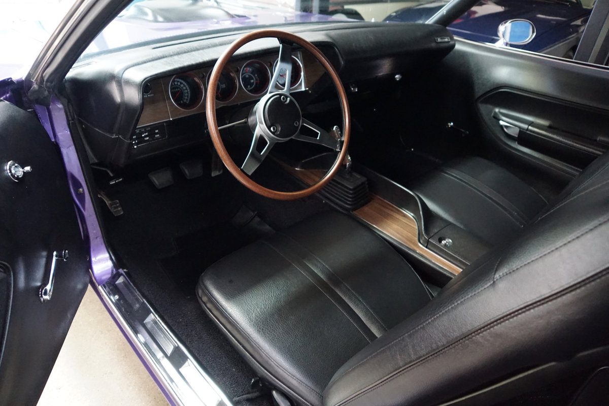 1971 Plymouth Barracuda 440 HP V8 6 spd Custom For Sale (picture 5 of 6)