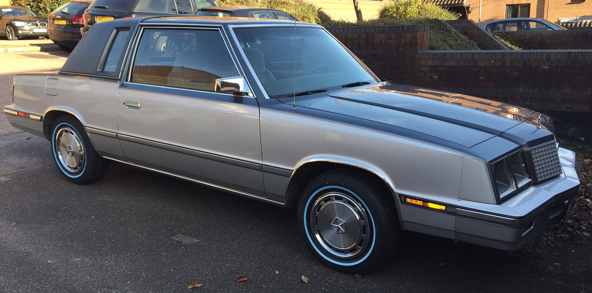 1985 Plymouth Caravelle Coupe 2.6 Auto For Sale (picture 1 of 6)