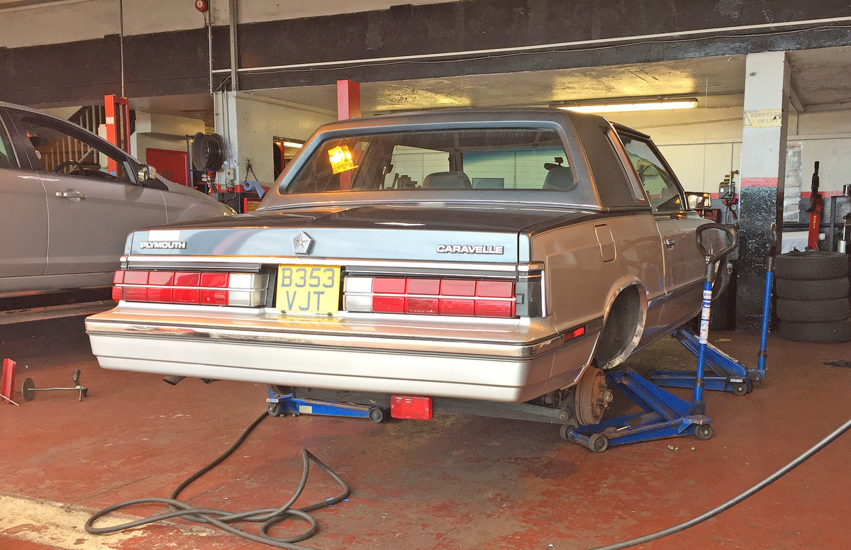 1985 Plymouth Caravelle Coupe 2.6 Auto For Sale (picture 6 of 6)