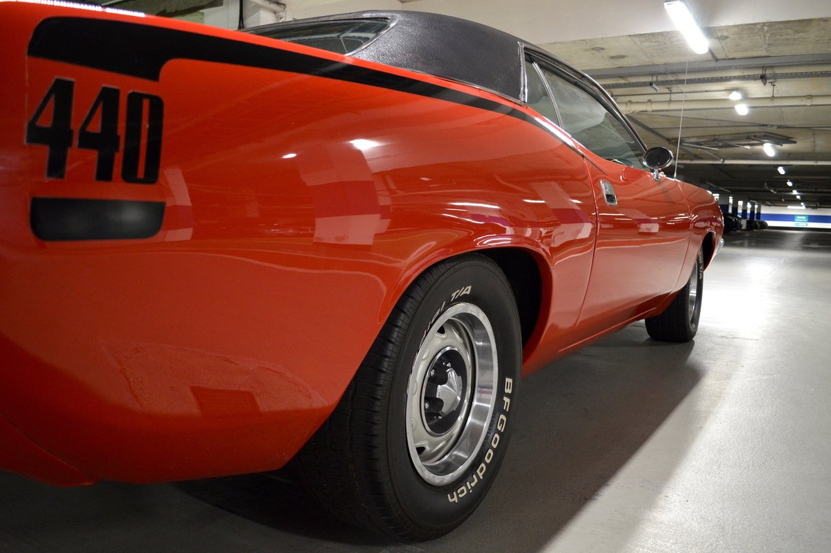 1973 Plymouth Barracuda 440 Big Block - FULLY RESTORED For Sale (picture 4 of 6)