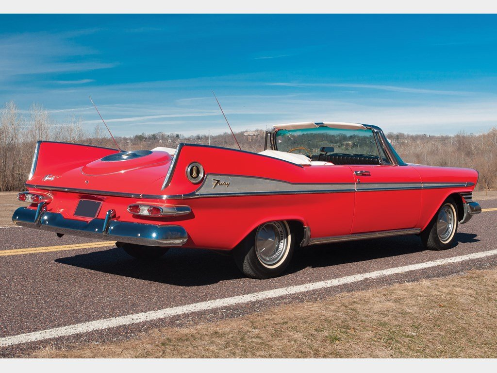1959 Plymouth Sport Fury Vert  For Sale by Auction (picture 2 of 6)