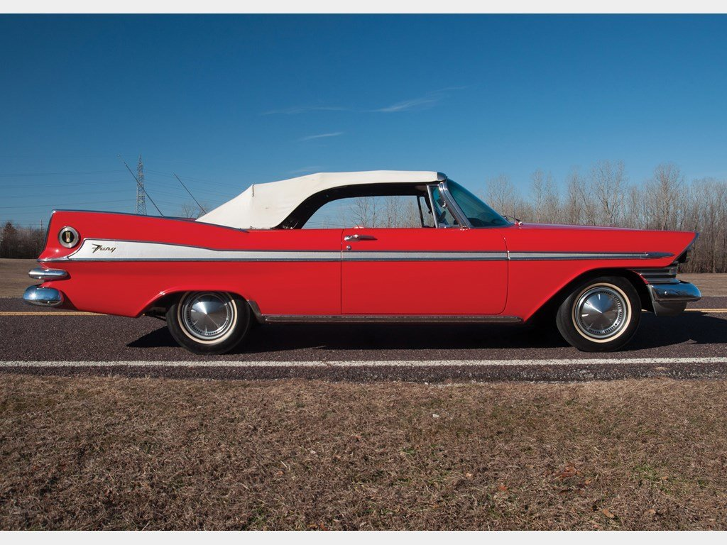 1959 Plymouth Sport Fury Vert  For Sale by Auction (picture 5 of 6)