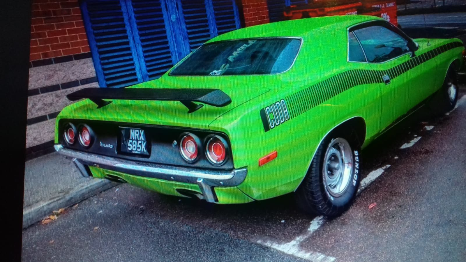1972 Plymouth cuda 340 s matching numbers For Sale (picture 2 of 6)