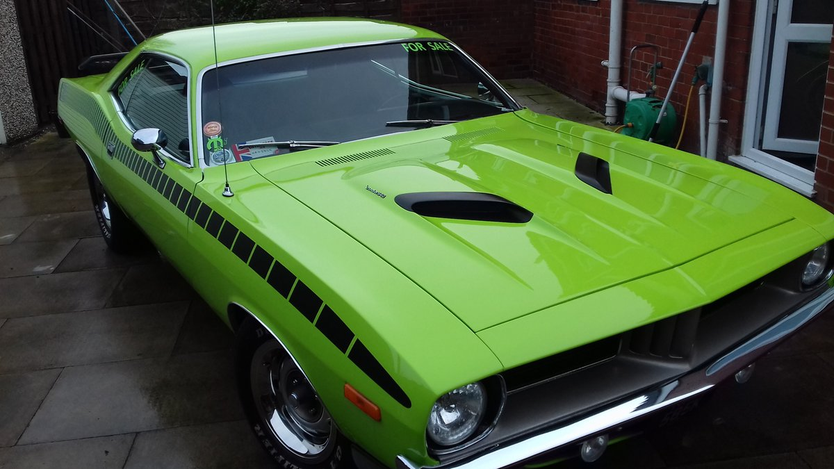 1972 Plymouth cuda 340 s matching numbers For Sale (picture 3 of 6)