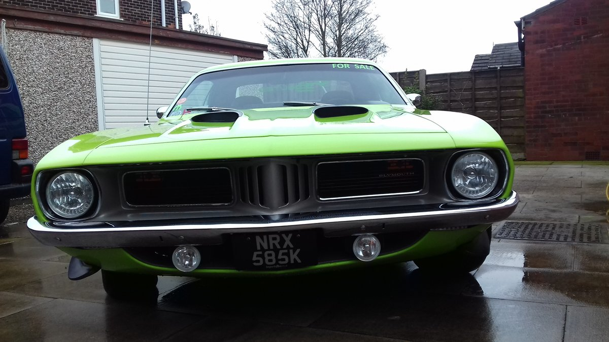 1972 Plymouth cuda 340 s matching numbers For Sale (picture 5 of 6)