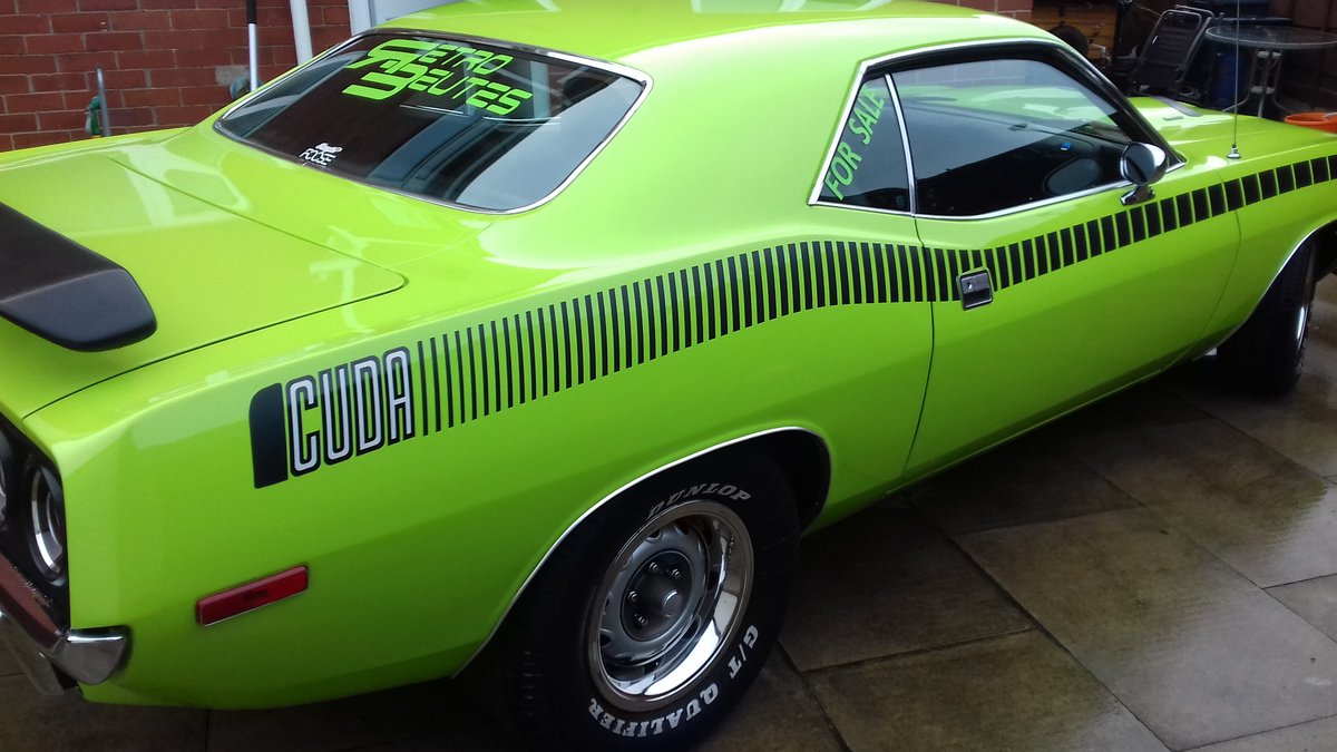 1972 Plymouth cuda 340 s matching numbers For Sale (picture 6 of 6)