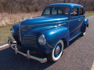 1940 Plymouth Deluxe  For Sale by Auction