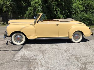 1941 Plymouth Super Deluxe Convertible  For Sale by Auction
