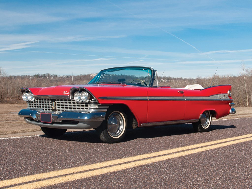 1959 Plymouth Sport Fury Convertible  For Sale by Auction (picture 1 of 6)