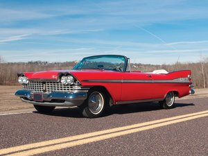 1959 Plymouth Sport Fury Convertible  For Sale by Auction