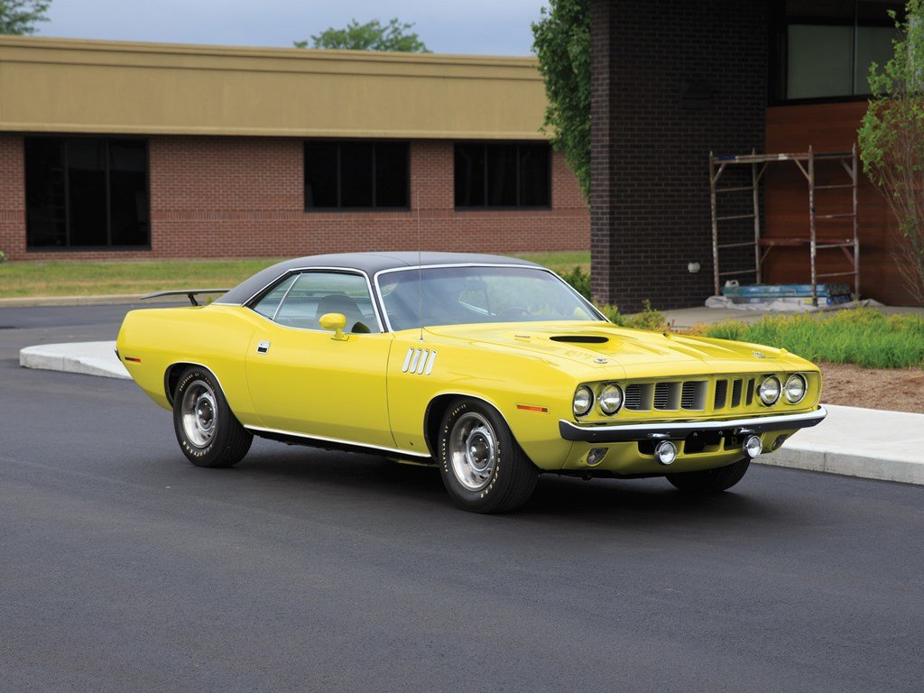 1971 Plymouth Cuda Coupe  For Sale by Auction (picture 1 of 6)