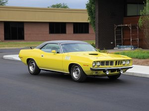 1971  Plymouth Cuda Coupe