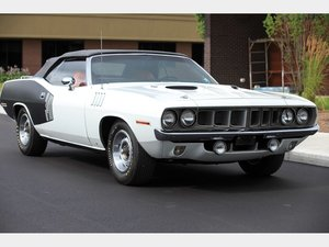 1971 Plymouth Cuda Convertible  For Sale by Auction