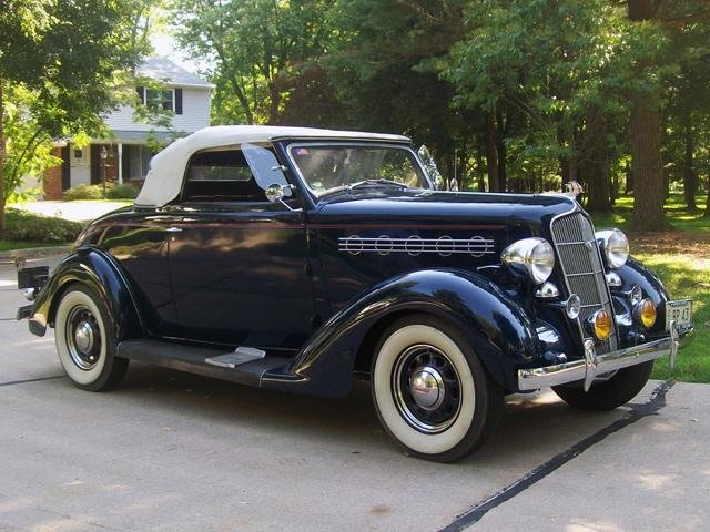 1935 Plymouth Deluxe Convertible Coupe For Sale (picture 1 of 6)