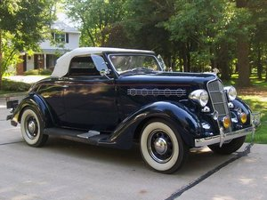 1935 Plymouth Deluxe Convertible Coupe