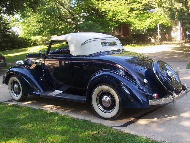 1935 Plymouth Deluxe Convertible Coupe For Sale (picture 3 of 6)