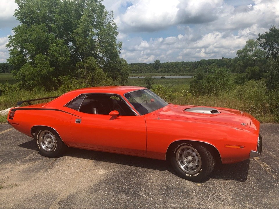1970 barracuda hemi 426 (South Lion, Michigan) $79,900 obo For Sale (picture 1 of 6)