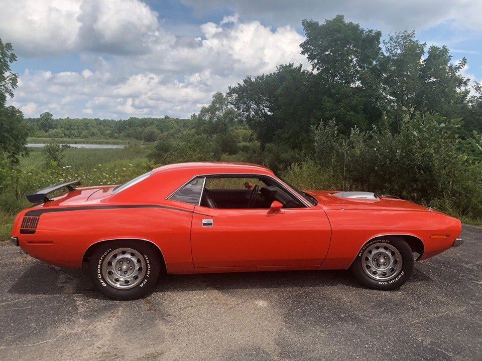 1970 barracuda hemi 426 (South Lion, Michigan) $79,900 obo For Sale (picture 6 of 6)