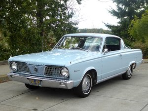 1966 Plymouth BarraCuda FastBack = clean Blue(~)Blue $obo