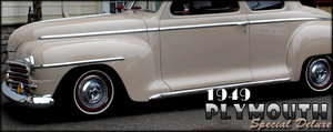 1949 Plymouth Special Deluxe Rare+ Mods 350 10-bolt AC $17.9