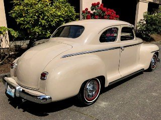 1949 Plymouth Special Deluxe Rare+ Mods 350 10-bolt AC $17.9 For Sale (picture 2 of 6)