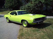 1970 Plymouth Cuda Hemi LimeLite Rare 1 of 247 4 Speed $399k