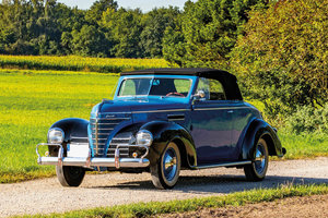 1939 Plymouth P8 Deluxe Convertible Coupe