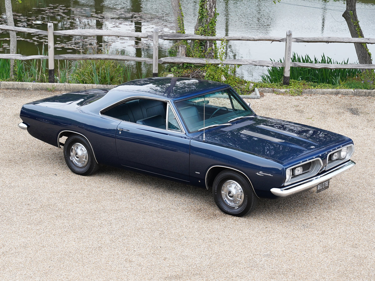 1967 Plymouth Barracuda Coupe Survivor Only 34,112 Miles from new For Sale (picture 1 of 6)