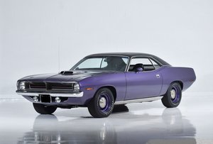 1970  Plymouth Cuda .. All Original