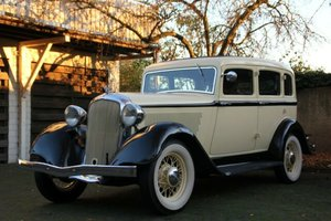 Plymouth PD Sedan, 4 doors, 6 cylinder, 1933 SOLD