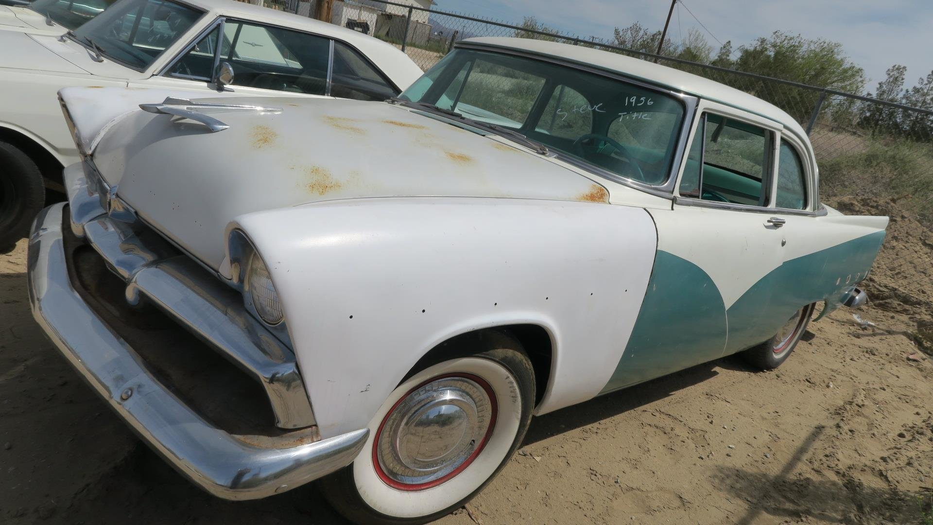 1956 Plymouth Belvedere 318 v8 Project Part Restored $5.9k For Sale (picture 1 of 6)
