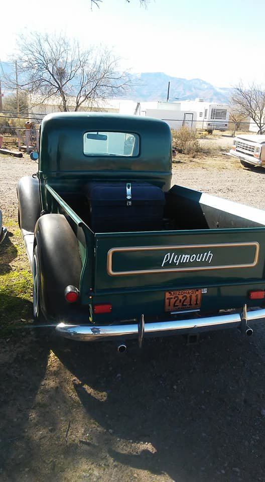 1937 Plymouth Truck 1/2 ton (Thatcher, AZ) $44,900 obo For Sale (picture 2 of 3)